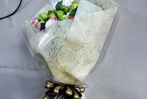 えびぽん様のプレミアムメイド就任祝い花束 @あっとほぉーむカフェ大阪本店1階