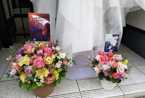 AIⓇPEN RYO様のライブ公演祝い花 @六本木CLUB EDGE