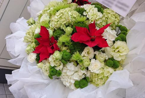 誕生日祝いアイアンスタンド花
