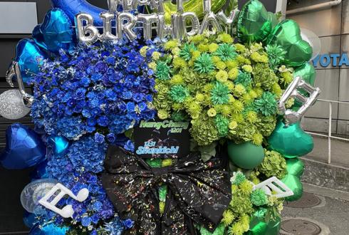 ミオヤマザキ様のライブ公演祝い&Dr.Hang-Chang様・Ba. Shunkichi様の誕生日祝い連結フラスタ @Zepp Tokyo