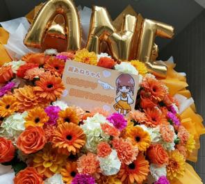 JYA☆PON 麗あね様の生誕祭祝いフラスタ @代アニLIVEステーション