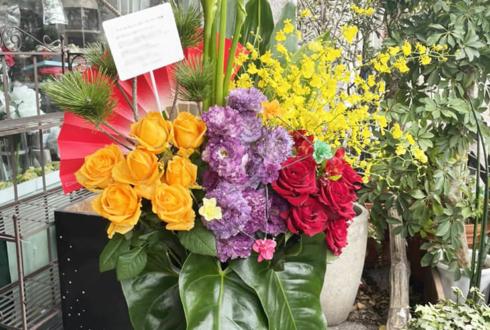 サンドリオンの皆様へ新年のご挨拶の花 @スターダストプロモーション