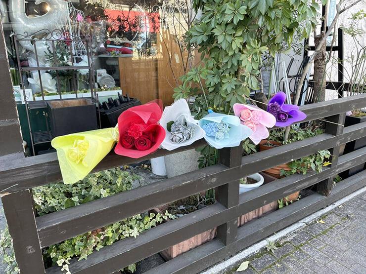 #f606 (エフロクゼロロク)様の現体制ラストライブ公演祝い花束 @Club asia【延期】