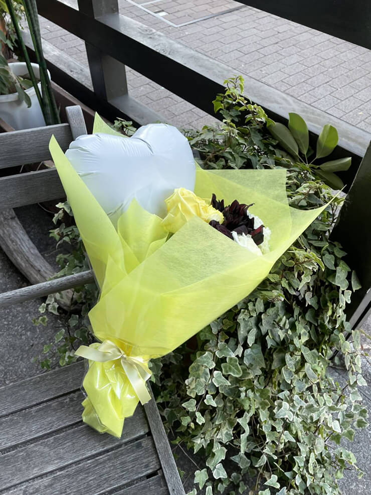 #f606 (エフロクゼロロク)霰ヒナ様の現体制ラストライブ公演祝い花束 @Club asia【延期】
