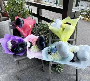 #f606 (エフロクゼロロク)様の1周年記念現体制ラストライブ公演祝い花束 @Kitsune Project【延期】