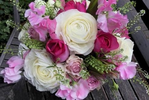 春のプレゼント用の花 @浜松町オフィスアネモネ様