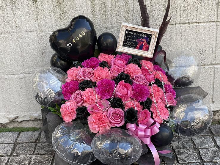 塩野光季様のスミツキグループシアター ラストライブ公演祝い花 @原宿ストロボカフェ