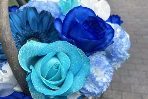 TRY&ERA 旭空汰様の結成1周年記念ライブ公演祝い花 @原宿ベルエポック 【ご来店受け取り】