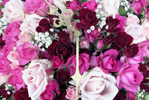 湯本貴大様の舞台『西園寺家の繁用』出演祝い花 @シアターグリーンBOXinBOX THEATER
