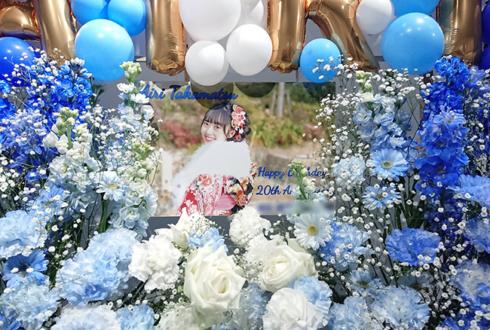 BenjaminJasmine 高松愛莉様の生誕祭祝い4基連結フラスタ @白金高輪SELENE b2