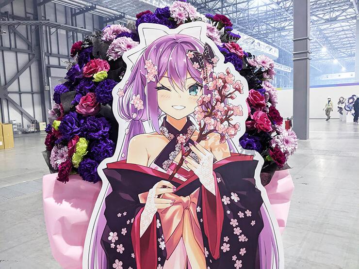桜凛月様の #にじFes2021 出演祝いフラスタ @東京ビッグサイト