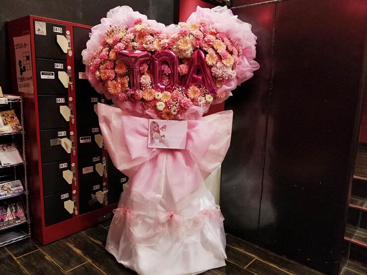 悲撃のヒロイン症候群 胡桃兎愛様の生誕祭祝いフラスタ @新宿BLAZE