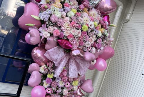 かみやど 萩田ここ様の生誕祭祝いフラスタ @HEAVEN'S ROCKさいたま新都心VJ-3