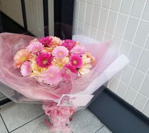 悲撃のヒロイン症候群 胡桃兎愛様の生誕祭祝い花束 @新宿BLAZE