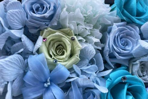 【 #ヲモヒヲカタチニプラス 】ご自宅での推し事に THRIVE愛染健十(cv.加藤和樹)様のB-PROJECT REALMOTION LIVE2020出演祝い花