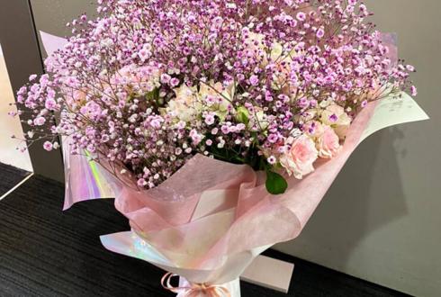 サクサクJUMBLE 月島くるみ様の生誕祭祝い花束 @新宿ZEAL THEATER