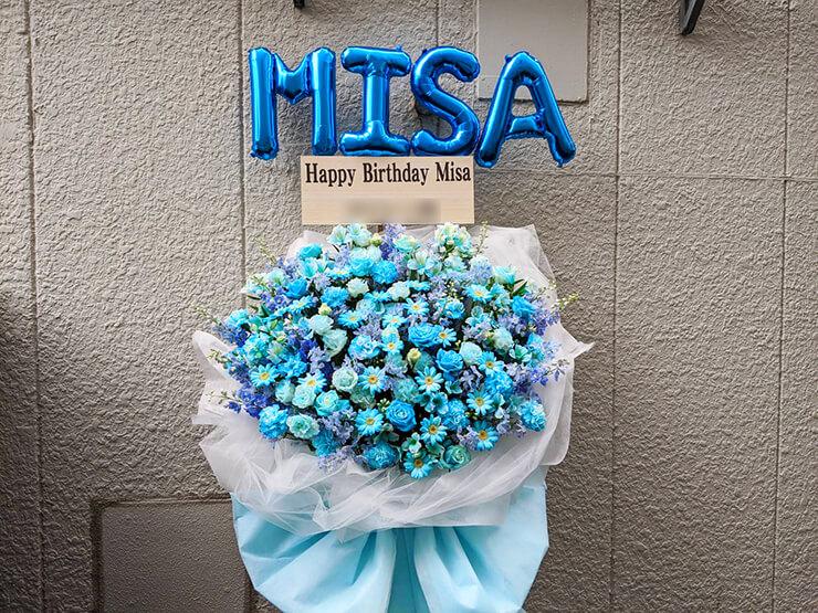 美坂みさ様の生誕祭祝いフラスタ+花束 @TSUTAYA O-Crest