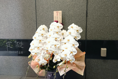 株式会社リアークスファインド様の移転祝い胡蝶蘭 @西新宿