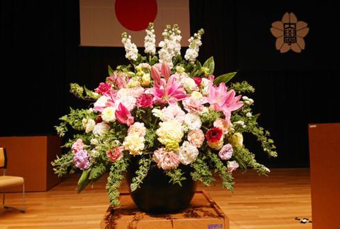 実践女子大学様の卒業式 壇上花 @実践女子大学 渋谷キャンパス