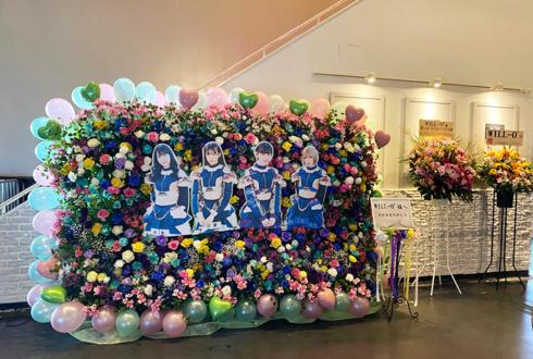 WILL-O'様のライブツアーファイナル公演祝い5基連結3段フラスタ @新木場USEN STUDIO COAST