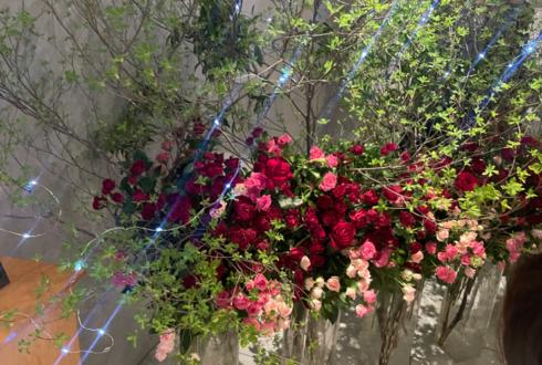 中央大学 劇団The座様の2021年卒業公演祝い会場装花 @八王子市芸術文化会館 いちょうホール
