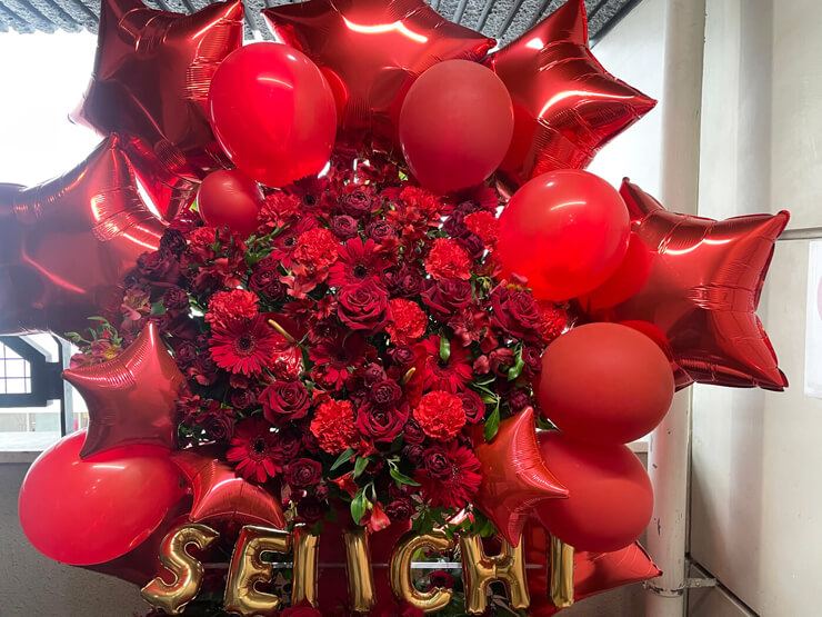 Snugs SEIICHI様のBDライブ公演祝いフラスタ @Shibuya gee-ge.
