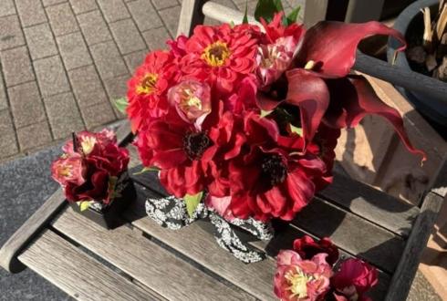 【 #ヲモヒヲカタチニプラス 】ご自宅での推し事に 清水弘樹様のONLINEファンミ出演祝い花