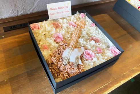 わーすた 三品瑠香様のお笑いライブ『令和のオラキオ4』出演祝い花 プリザーブドフラワーBOXアレンジ @LOFT9 Shibuya