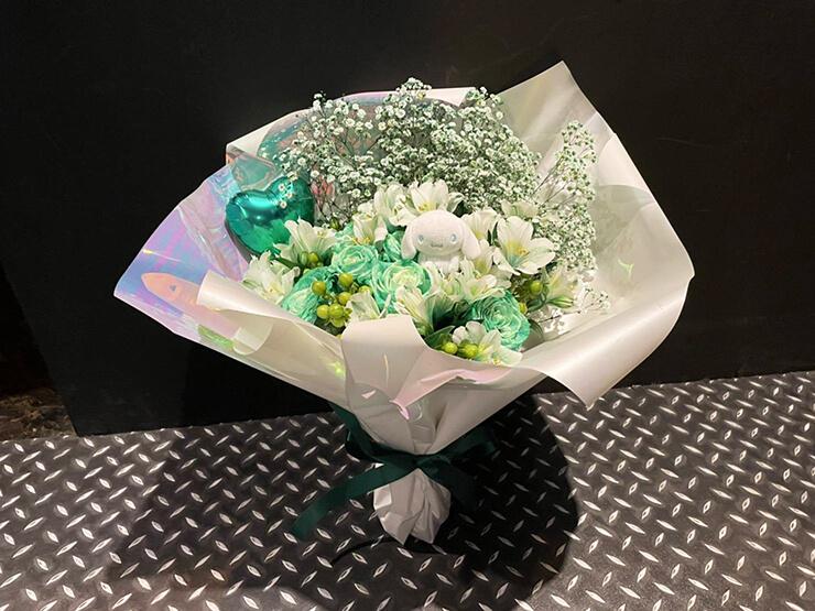 JYA☆PON 井上みゆ様の生誕祭祝い花束 @代アニLIVEステーション