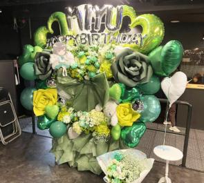 JYA☆PON 井上みゆ様の生誕祭祝い3基連結フラスタ @代アニLIVEステーション