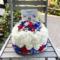 バケモノバケツ委員会(いりぽん先生/仮面ライアー217)様の「超バケ会議2021」開催祝い花 フラワーケーキ @横浜1000CLUB