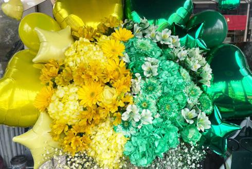 Aphrodite 新里菜摘様 しゆう様の生誕祭祝いコーンスタンド花 @目黒鹿鳴館