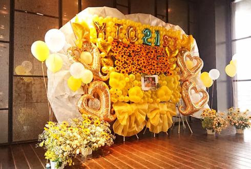 まねきケチャ 深瀬美桜様の生誕祭祝い4基連結フラスタ @TSUTAYA O-EAST