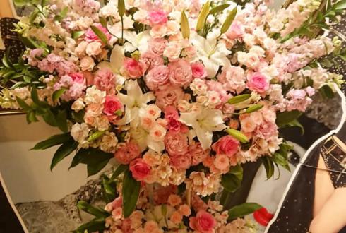りぼん様の5周年イベント開催祝いスタンド花2段 @Burlesque TOKYO
