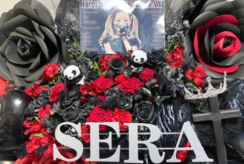 sera様のBDライブ『RED ROSE』公演祝いフラスタ @初台DOORS