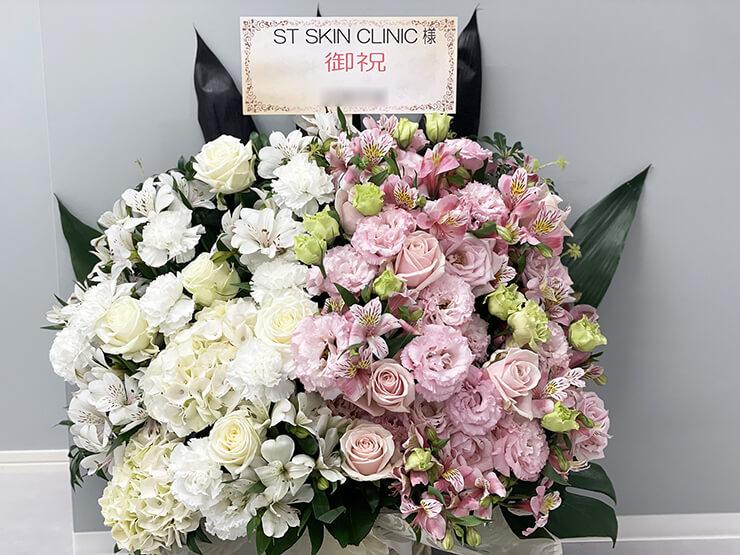 STスキンクリニック青山様の開院祝い花 @北青山