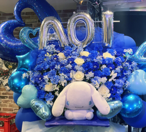 XANA 星奈あおい様の生誕祭祝いフラスタ @AKIBA-COLORS