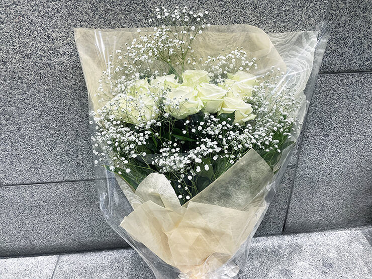 UPローチ 天宮瑠那様の生誕祭祝い花束 @SHIBUYA TAKE OFF 7