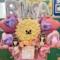 乃木坂46 佐藤璃果様の4期生ライブ公演祝いビションフリーゼモチーフフラスタ @幕張メッセ