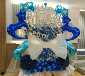 elsy 神谷樹里奈様の生誕祭祝い3基連結フラスタ @Veats Shibuya
