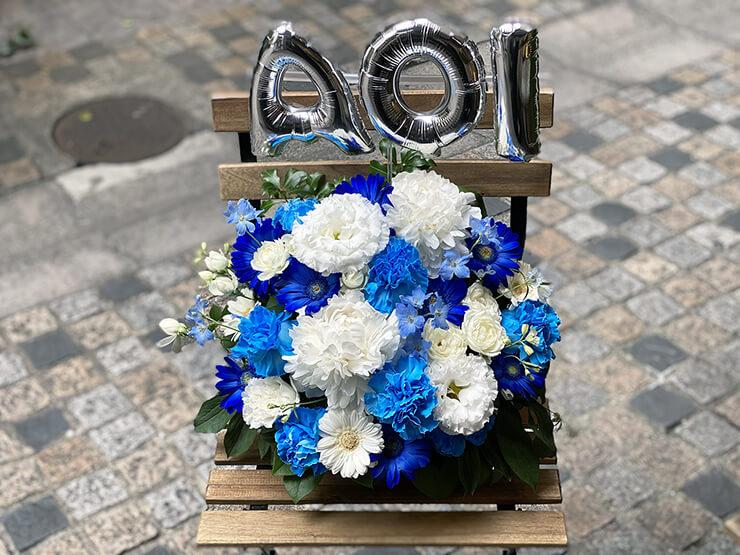 愛沢あおい様の生誕祭祝い花 @カフェプリンス【来店受け取り】