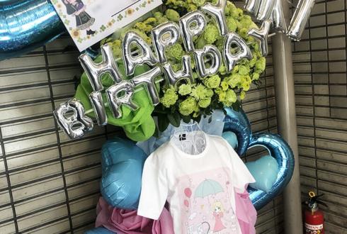 アライブとレイニー 雨宮光咲様の生誕祭祝いトルソーフラスタ @新宿Head Power