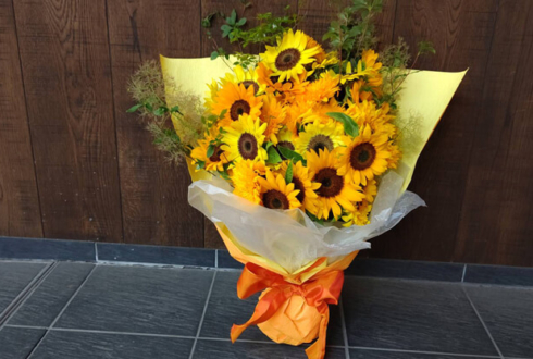 あずりな様へ 初夏のご挨拶用ひまわり4種の花束