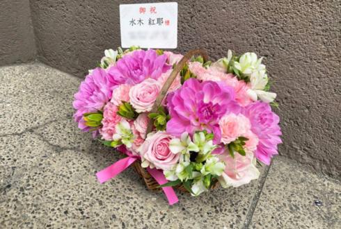 水木紅耶様の日本舞踊「夢追う子」出演祝い楽屋花 @国立劇場