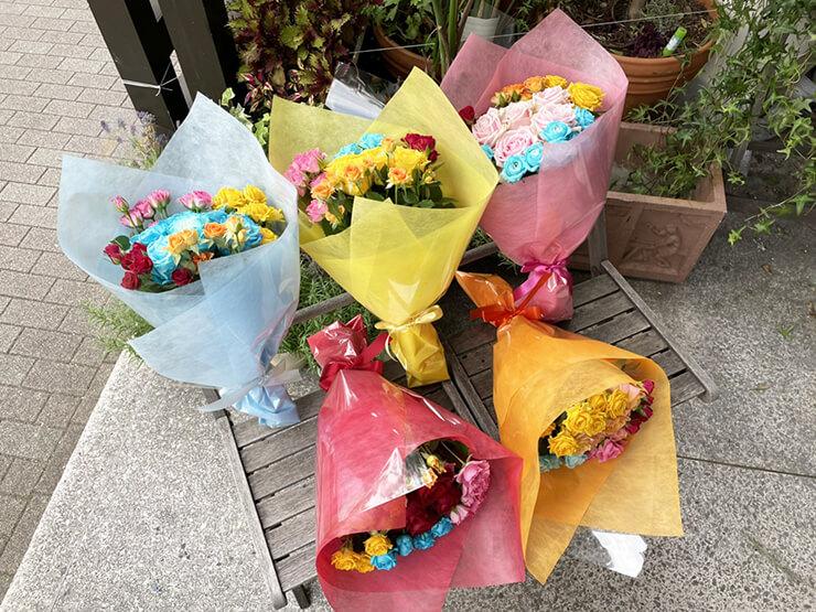 #メルティハニー様のライブ公演祝い花束 @aube shibuya