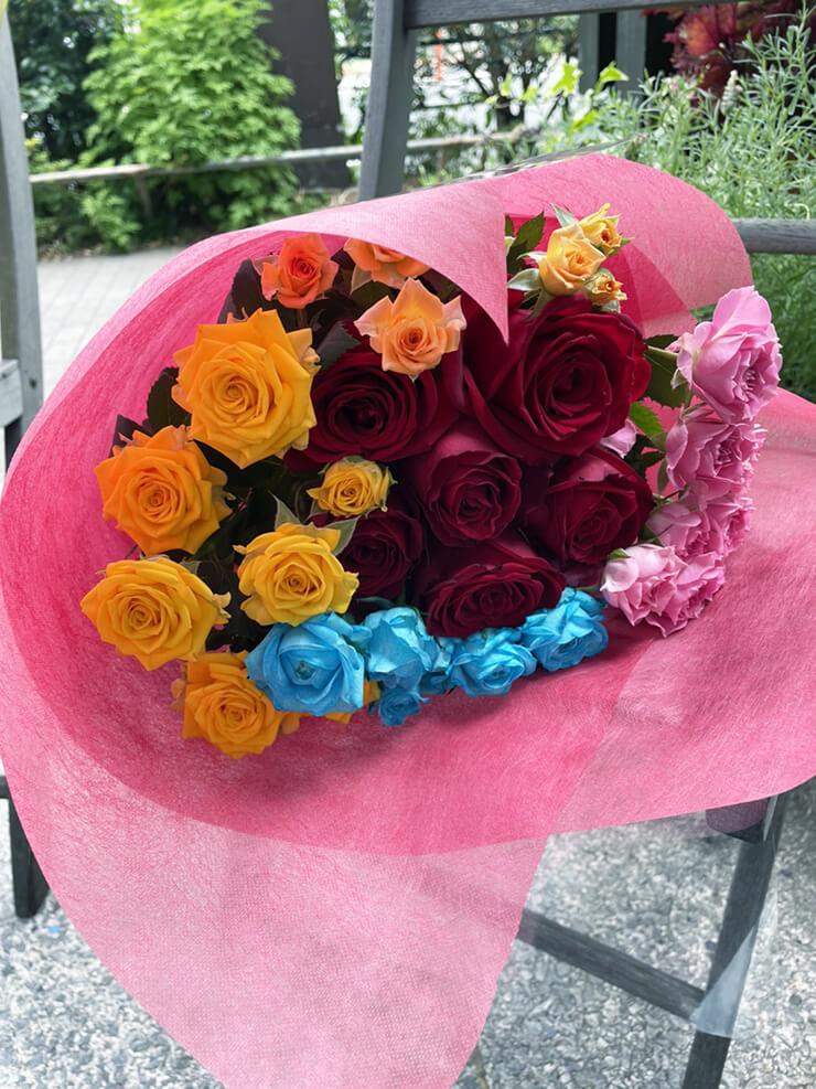 #メルティハニー かなちぃ様のライブ公演祝い花束 @aube shibuya