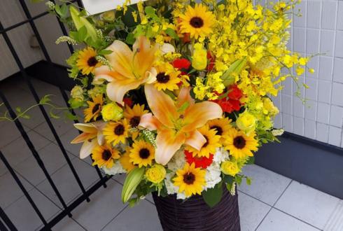 株式会社ギフトパッド様の移転祝い花 @日本橋