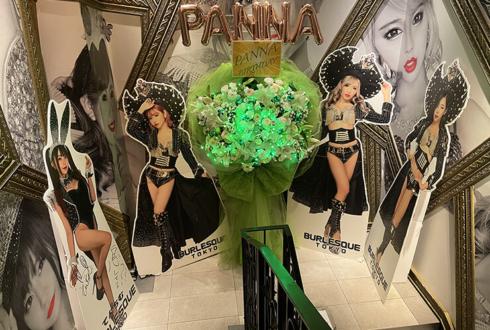 Panna様のBDイベント開催祝いフラスタ @バーレスク東京