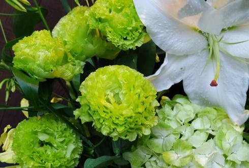 Harvest Time様の6周年祝い&植竹政友所長の誕生日祝い花 @六本木