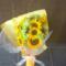 誕生日祝い花束 @八芳園